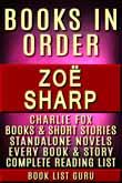 Zoe Sharp Books in Order