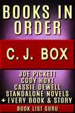 CJ Box Books in Order