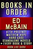 Ed McBain Books in Order