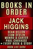 Jack Higgins Books in Order