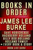 James Lee Burke Books in Order