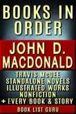 John D MacDonald Books in Order
