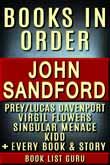 John Sandford Books in Order