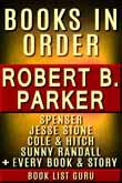 Robert B Parker Books in Order