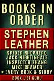 Stephen Leather Books in Order