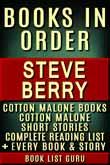 Steve Berry Books in Order