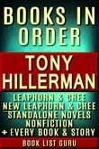 Tony Hillerman Books in Order